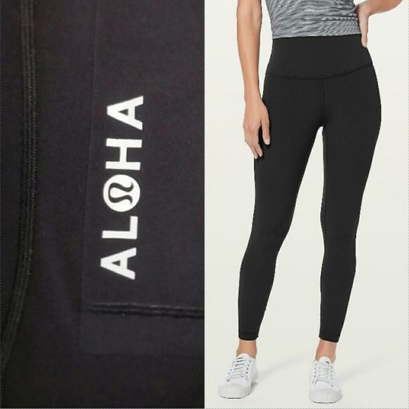 4f3da38839bf2 lululemon athletica Pants | New Lululemon Align Aloha Pant Black ...
